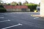 Rear Car Park at Epping Forest District Council