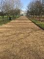 Uxbribge Spray Tar & Chip Footpaths to Sir Winston Churchills Bunker